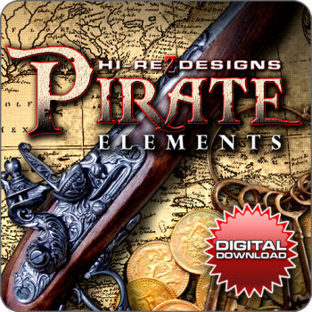 Pirate Elements - HD - Digital Download