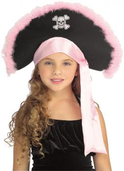 Pirate Hat In Pink Child