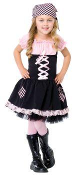 Girl's Pirate Costume - Child Medium