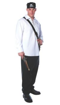 Pirate Shirt Mens One Size