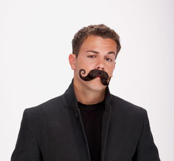 Mustache Handle Bar - Black