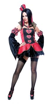 Women's Queen Of Broken Hearts Costume - Adult S (4 - 6)