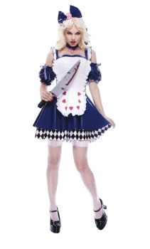 Women's Alice Wicked Costume - Adult S (4 - 6)