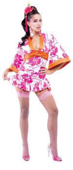 Women's Geisha French Kiss Costume - Adult M (8 - 10)