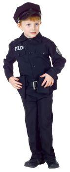 Police Man Set Sm Child 4-6