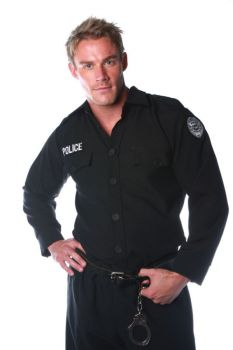 Police Shirt Mens One Size