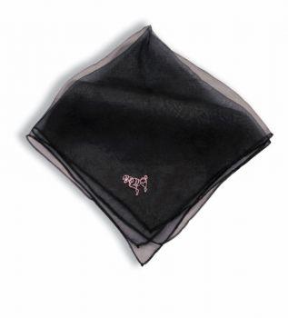 Poodle Scarf Black