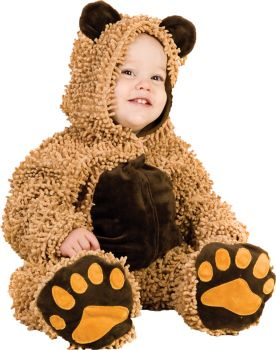 Chenille Teddybear - Infant (6 - 12M)