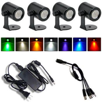 Precision Z High Powered Spot Light - 4 Pack