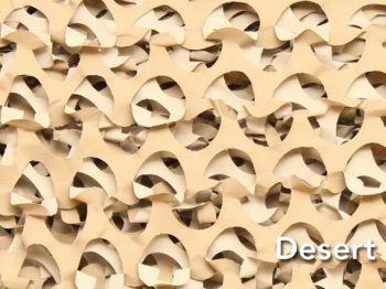 Ultra-lite Bulk Camo Netting - Desert
