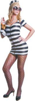 Women's Princess In Prison Costume - Adult M (6 - 8)
