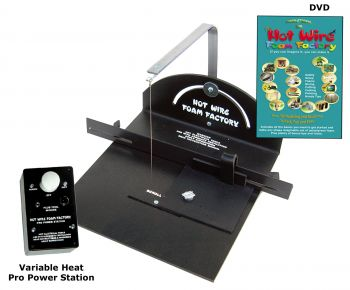 Pro Scroll Table Kit with Variable Heat Pro Power Station
