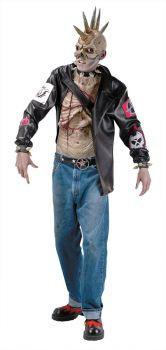 Punk Zombie Costume