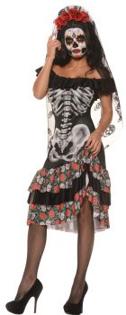 Women's Queen Of The Dead Costume - Adult Small