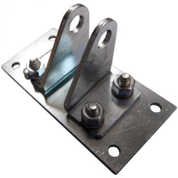 Rear Pivot Mount -  Two Piece Mounted to Plate