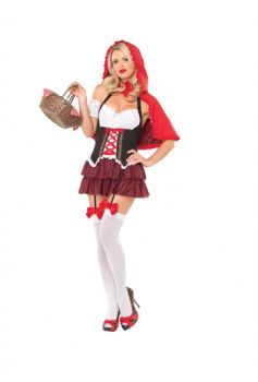 Women's Red Riding Hood Costume - Adult M/L