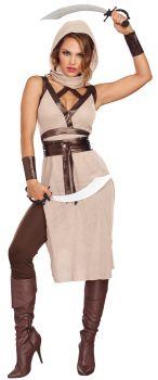 Women's Desert Warrior Woman Costume - Adult S (2 - 6)