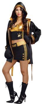 Women's World Champion Costume - Adult S (2 - 6)