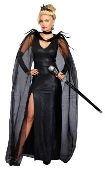 Women's Queen Of Mean Costume - Adult S (2 - 6)