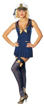 Seaside Pinup Costume - Adult L (10 - 14)