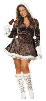 Eskimo Cutie Costume - Adult XS (0 - 2)