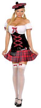 Women's Sassie Lassie Costume - Adult XS (0 - 2)