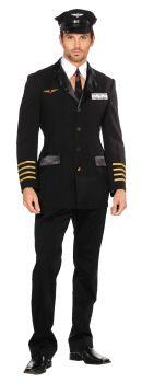 Men's Pilot Hugh Jorgan Costume - Adult L (42 - 44)