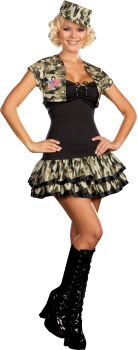 Soldier Girl - Adult M (6 - 10)