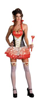 Women's Queen Of Heartbreak Costume - Adult M (6 - 10)