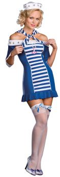 Women's Ship-Shape Sweetie Costume - Adult XL (14 - 16)