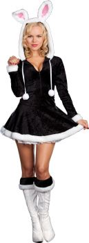 Hip To The Hoppity Costume - Adult L (10 - 14)