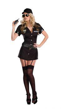 Women's Bodyguard Eva Destruction Costume - Adult L (10 - 14)