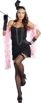 Women's Flapper Basic Dress - Adult XL (14 - 16)