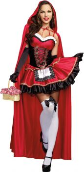Women's Little Red Costume - Adult S (2 - 6)