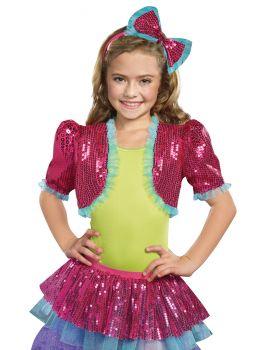 Girl's Dance Craze Bolero - Pink - Child S/M (2 - 6)