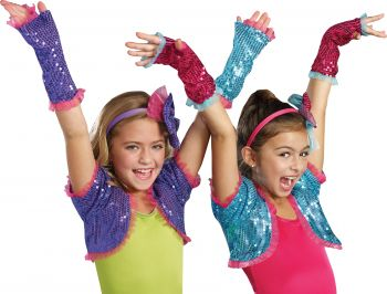Dance Craze Arm Warmers - Pink