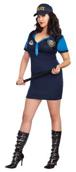 Women's Plus Size The Dirty Detective Costume - Adult 1X/2X (16 - 18)