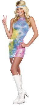 Women's Love Child Costume - Adult XL (14 - 16)