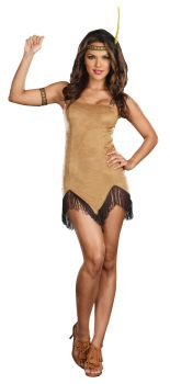 Women's Prances With Wolves Costume - Adult L (10 - 14)