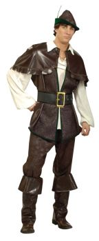 Men's Robin Hood Costume - Adult M (42 - 44)