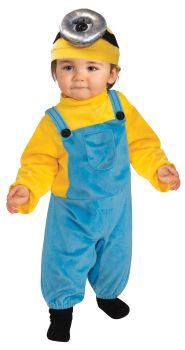 Minion Stuart Costume - Toddler Large (2 - 4T)