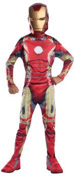Boy's Iron Man Mark 43 Costume - Child Small