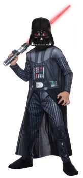 Boy's Photo-Real Darth Vader Costume - Star Wars Classic - Child Large