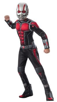 Boy's Deluxe Muscle Chest Ant-Man Costume - Child Large