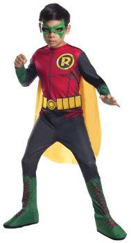 Boy's Photo-Real Robin Costume - Child Medium