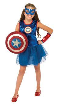 Girl's American Dream Tutu Dress - Child Small