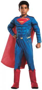 Boy's Deluxe Superman Costume - Child Small