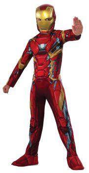 Boy's Iron Man Costume - Child Small