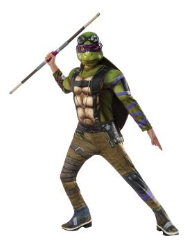Boy's Deluxe Donatello Costume - Ninja Turtles - Child Large