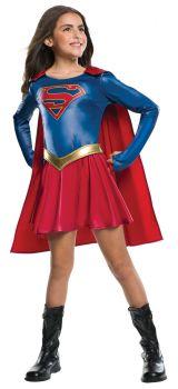 Girl's Supergirl Costume - Supergirl TV Show - Child Small